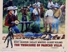 Rory Calhoun Gilbert Roland film The Treasure of Pancho Villa 35m-3644