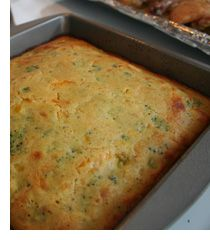 Broccoli Cheddar Cornbread; Southern Style Cooking Recipes | Home Made Simple. We add  finely chopped onion.