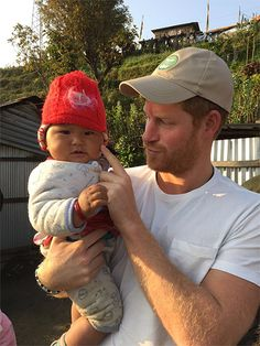 March 2016 - Prince Harry visits Nepal, extends his stay 6 days to help in rebuilding a school destroyed by the 7.8 earthquake of April 2015