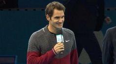 Roger Federer si scusa col pubblico: ´Mi sono fatto male alla schiena nel match contro Wawrinka´
