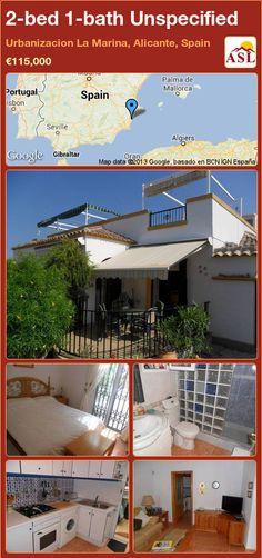 2-bed 1-bath Unspecified in Urbanizacion La Marina, Alicante, Spain ►€115,000 #PropertyForSaleInSpain