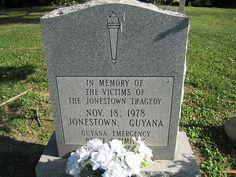 Jonestown Mass Grave