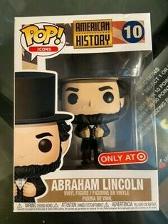 Funko Pop Icons 10 American History Abraham Lincoln Target for sale online Pop Figures, Vinyl Figures, Kool Aid Man, History Icon, Funko Pop Dolls, Funk Pop, Funko Pop Vinyl, Abraham Lincoln, American History