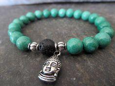 Buddah Bracelet Yogi Jewelry Beaded Stretch Boho Bracelet