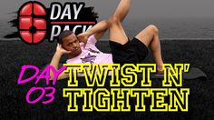 Day 03: Twist N' Tighten Obliques | Six Day Six Pack Workout