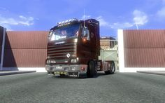 Euro Truck Simulator 2 - Scania 143M