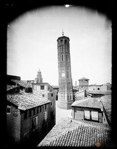 Torre Nueva 1881  - Gran Archivo Zaragoza Antigua