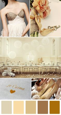 Sparkle & neutrals. and neutral means pink too...