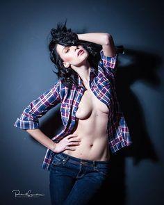 Photographic Studio, Studio Lighting, Model Photographers, Check Shirt, Editorial Photography, Editorial Fashion, Lightroom, Canon, Punk