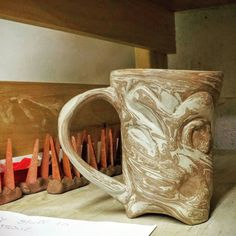 Here is a picture of a tankard I just finished carving next to some cone packs (things that help tell me what temperature parts of the kiln ar firing to). I'm still working hard making stuff to sell at King Richards Faire in Carver MA! I'm here weekends until 10/25 (plus Columbus Day) 10:30am-6pm. I'm just a short walk left of the entrance in Wizard's Glade! #renfaire #renfaire2015 #ceramics #kingrichardsfaire #kingrichardsfaire2015 #ccceramics #carving #ceramicsofinstagram #handmadepottery…