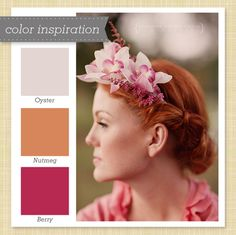 Muted Pink and Orange Color Palette 44 by Sarah Hearts