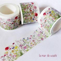 Washi Tape campo de flores