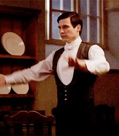 Thomas and the Bear Dance | Downton Abbey