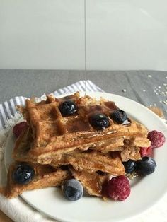 E-mail - Jeanne Schrauwen - Outlook Pureed Food Recipes, Baking Recipes, Snack Recipes, Sweet Breakfast, Breakfast Dessert, Healthy Sweets, Healthy Baking, Waffles, Happy Foods