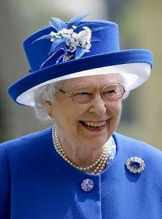 Queen Elizabeth, June 17, 2015 in Angela Kelly   Royal Hats