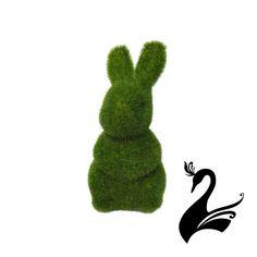 Moss Artificial Grass Turf Ornaments - Bunny Rabbit 18cm - Home Garden Decoratio