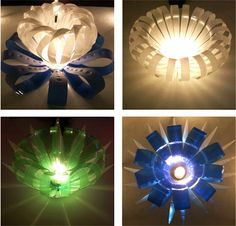 ReDesign bottle lights – recycled plastic bottles