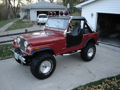 1979 Jeep CJ7 I will own one.