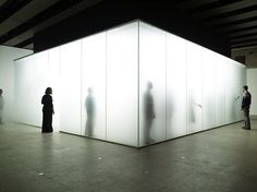 By Antony Gormley, this immersive installation used dense fog to disorientate and engage the viewers senses, often causing groups of people entering the space to loose one another.