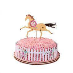 kit pour CAKE DESIGN décoration GÂTEAU BUFFET ANNIVERSAIRE fête PONEY CHEVAUX