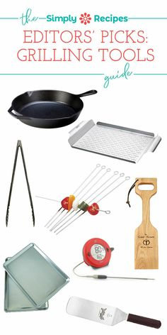 Editors' Picks: Our Favorite Grilling Tools! What are the best grilling tools? Here's what we recommend every home grill enthusiast keep on hand for great grilling. #grilling #grillingtools #editorspicks #simplyrecipes Digital Marketing Strategy, Digital Marketing Quotes, Simply Recipes, Whole 30 Recipes, My Recipes, Free Digital Scrapbooking, Marketing Automation, Grilling Tips, Grilling Recipes