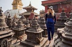 Даутцен Крус на страницах Vogue Netherlands
