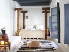 Estilo étnico actualizado en una bonita casa de Marrakech.