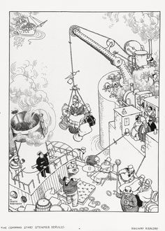 W Heath Robinson - Cerca con Google