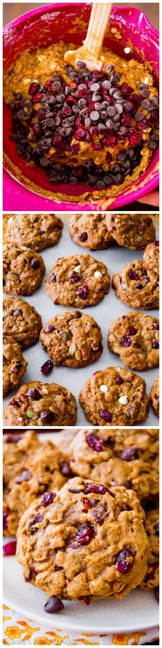 An easy, quick recipe for Pumpkin Oatmeal Cookies.