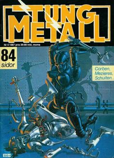 Cover for Tung metall (Epix, 1986 series) #4/1987