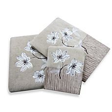 image of Croscill® Magnolia Bath Towel Collection