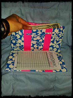 http://savvyserver.storenvy.com  Hawaiian Flowers And Pink Duct Tape Server Book!