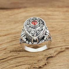 Women's Sterling Silver Gawu Box Ring
