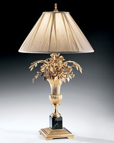 Lamps Table Lamp The Impressive Table Lamp With Vase And Flowers Design Is Made