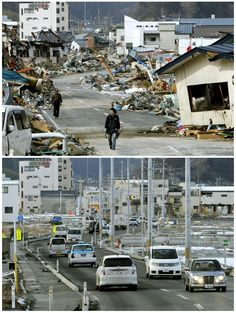 Japan, one year after tsunami