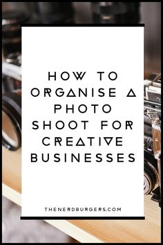 Learn the tips and tricks to organise a photographer, a hair and makeup artist and a model for a photo shoot for your creative business! Click the pin to read the full post!