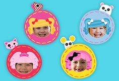 {free} printable Lalaloopsy picture frame craft
