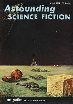 #retro cover: Astounding Science-Fiction