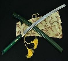 Zombie Apocalypse Weapons, Samurai Swords Katana, Ninja Sword, Austrian Empire, Minecraft Decorations, Fantasy Sword, Kendo, High Carbon Steel, Blade