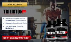 """Trilixton Muscle Builder is the best alternative for giving you solid muscles. It builds testosterone level in the body which was diminished in maturing and reason for fit bulk and low stamina. It ready to enhances rec center execution. It is additionally ready to adjust your body hormones. It has regular fixings which are tried in our confirmed labs by overall specialists.  <a href=""""http://junivivecream.fr/trilixton-muscle-builder/"""">http://junivivecream.fr/trilixton-muscle-builder/</a>"""