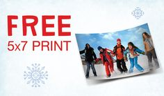 TODAY ONLY get a FREE 5x7 photo print from Walgreens. Make sure to re-pin to pass on this fantastic freebie.