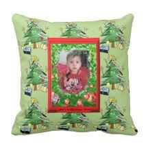 First Christmas Pillows