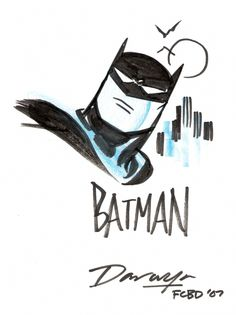 Batman by Darwyn Cooke Comic Art