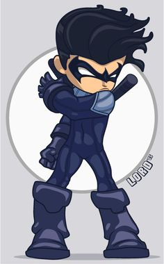 Lil Nightwing by *lordmesa