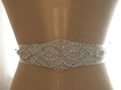Wedding Belt Bridal Belt Bridesmaid Belt Sash by FalabellaBridal, $28.80