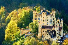 Hohenschwangau Castle In Bavaria