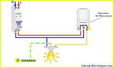 10 Idées De Detcteur De Mouvemnet Schéma De Câblage électrique Schéma électrique Câblage électrique
