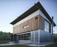 Shipping Container House - Storstac