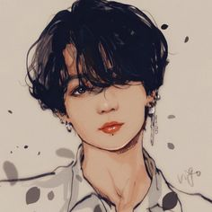 I grouped the above mentioned questions about the pencil drawing that I received and tried to explain in detail on … Jungkook Fanart, Bts Jungkook, Fanart Bts, Bts Chibi, Anime Wolf, Bts Photo, Foto Bts, Anime Outfits, Fan Art