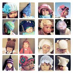 Baby hats by Basia's Hat Factory  http://arbillabasia.wix.com/basiashatfactory